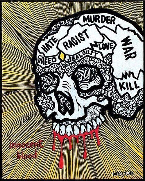 Eric Yanez / Dubeejunk, Concept skull