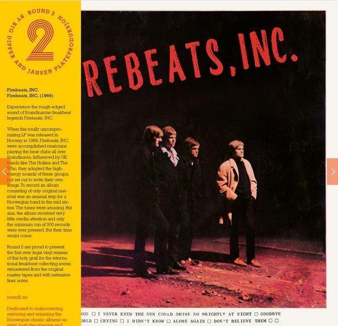 Firebeats Inc, vinyl rarities