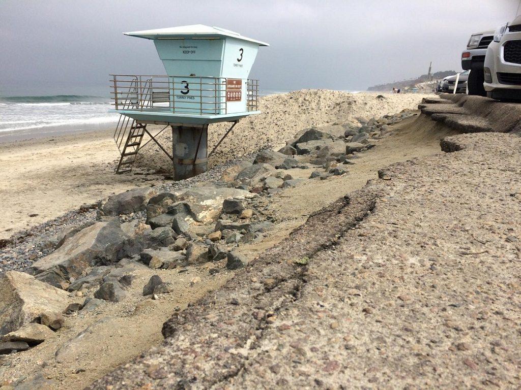 Scripps Institution of Oceanography, UC San Diego, beach erosion