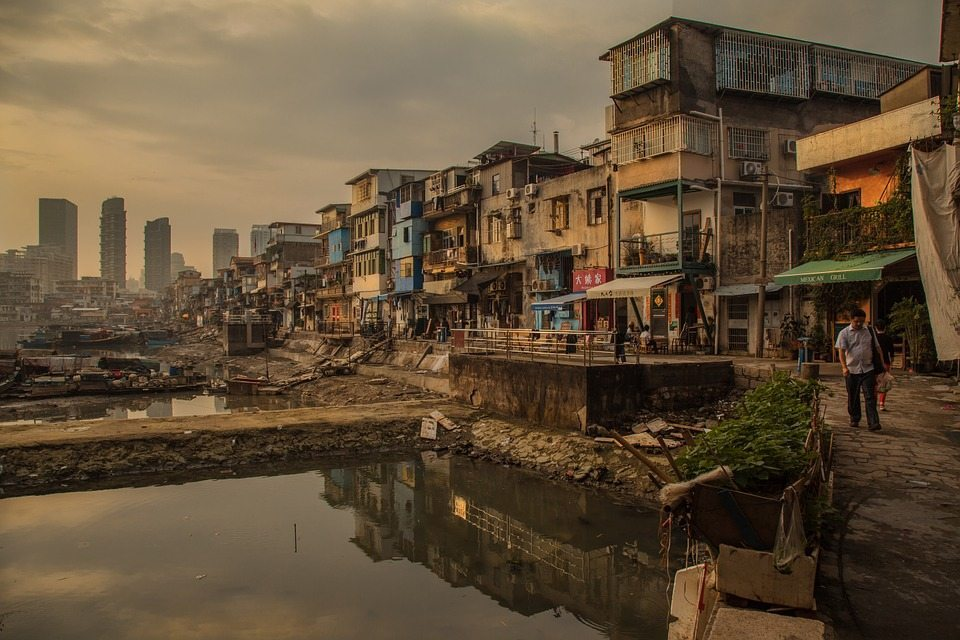 Slums, climate and violence