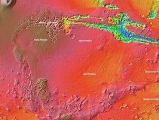 Unusual Martian region