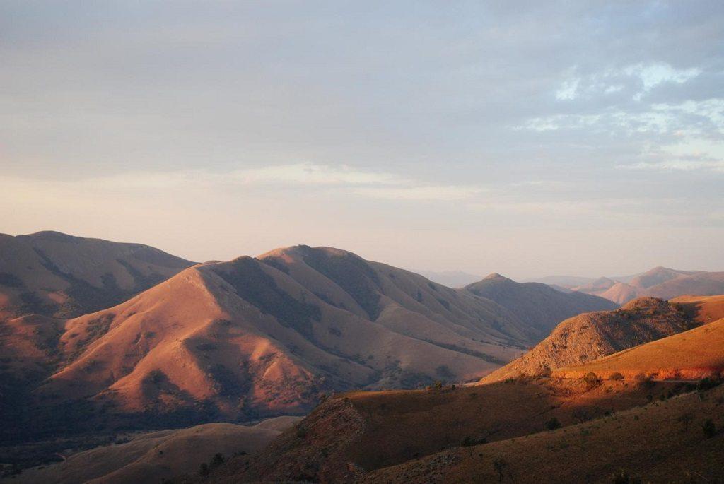 Th eBarberton Mountains