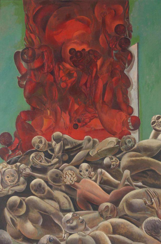Wyndham Lewis, Inferno, 1937