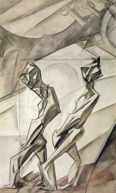 Wyndham Lewis Planners Happy Day 1912-13