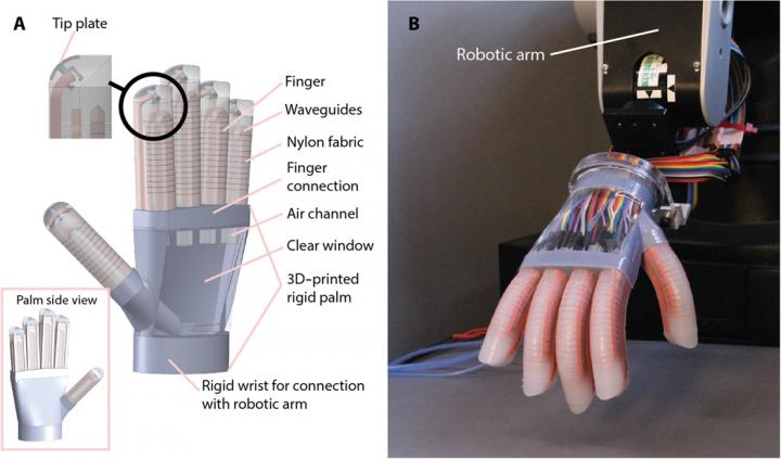 soft touch robot by Cornell University