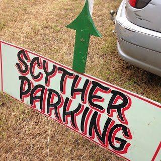 Scyther parking, green scythe fair