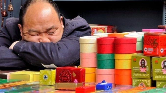 Sleeping man, sleep well