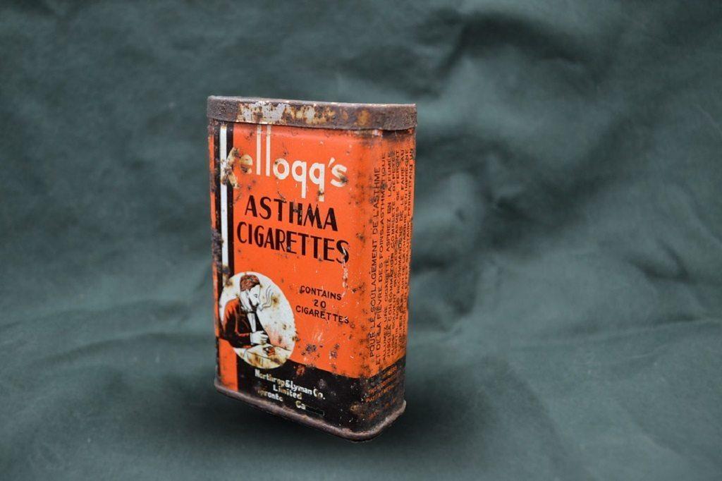 asthma cigarettes, vitamin d