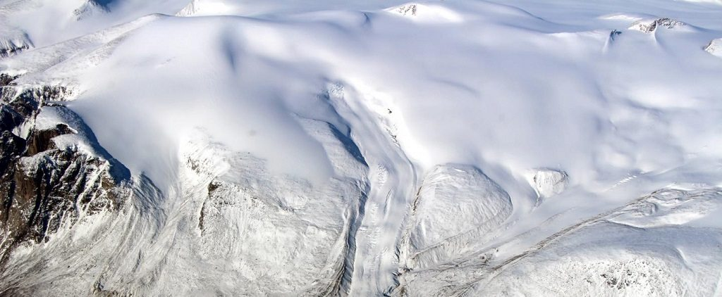 Canadian Glacier, rising sea levels