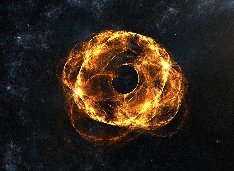 cosmic web by Pixabay and Insspirito