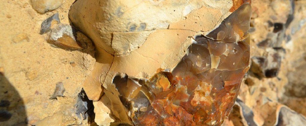 flint, stone age