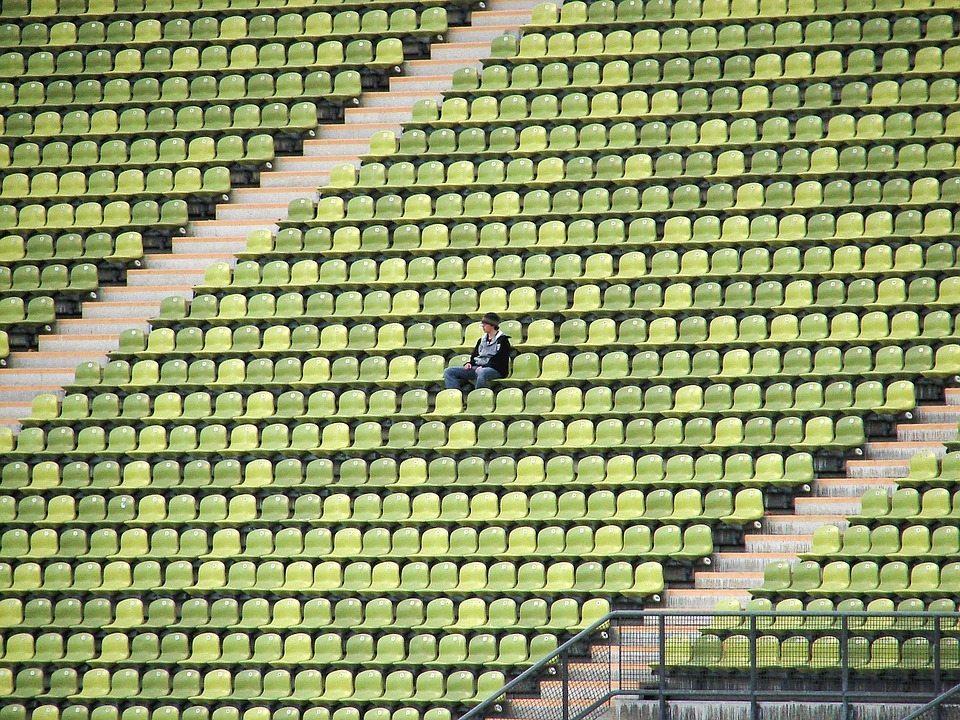 stadium loneliness