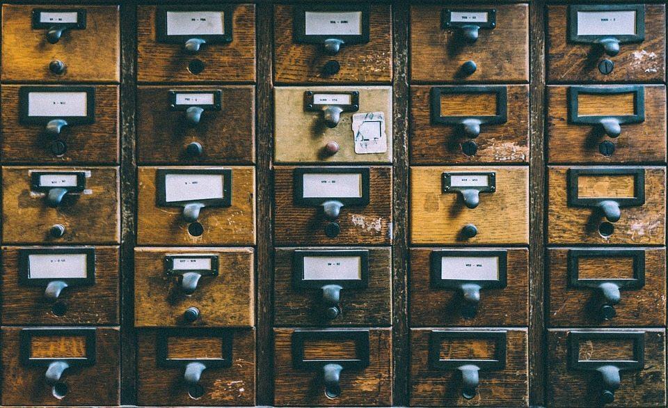 pigeonholes, boxes
