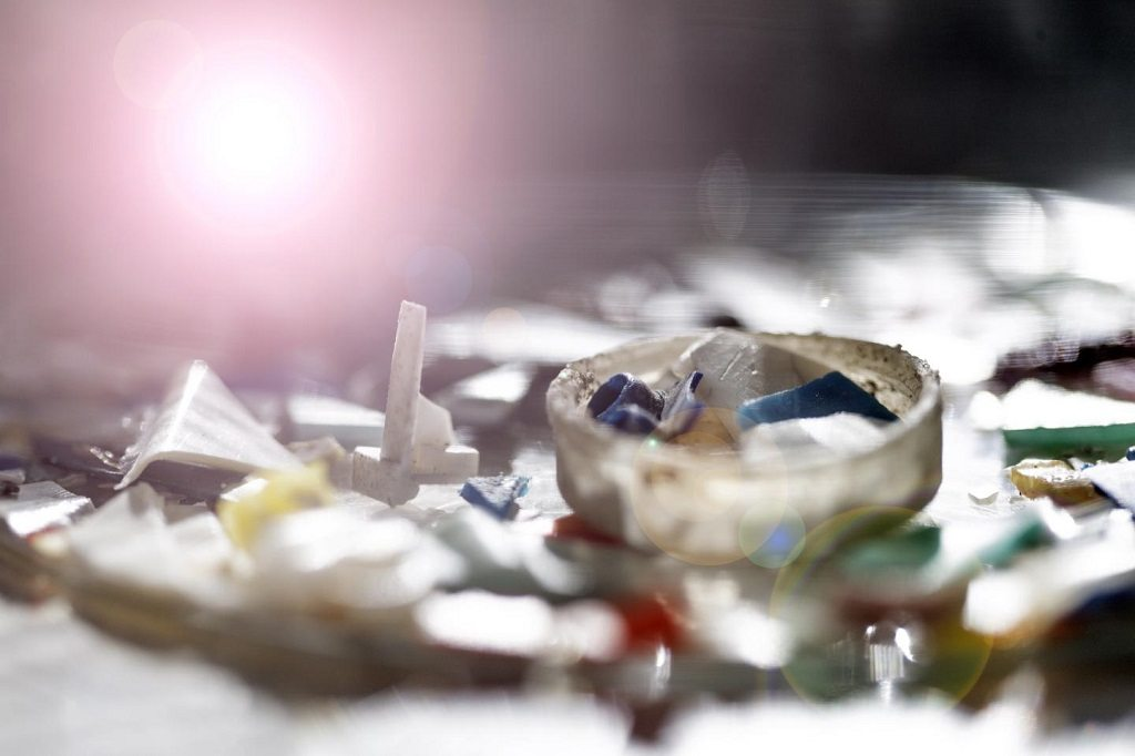 Plastic pollution by University of Plymouth