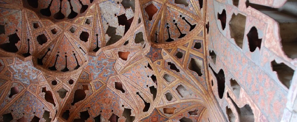 Iran, exquisite roof