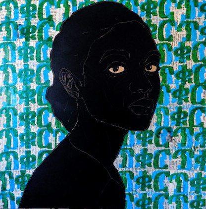 Ephrem Solomon's Silence, at Kristin Hjellegjerde Gallery until 3rd February 2018.