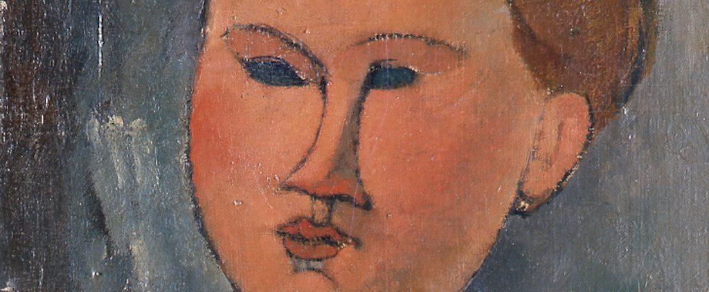 Ritratto di Giovane Donna(detail), Amedeo Modigliani