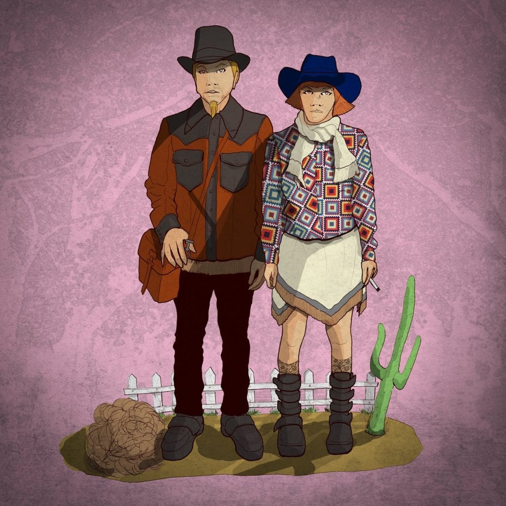 COWBOY+n+GIRL+1 (c) DERREN TOUSSAINT