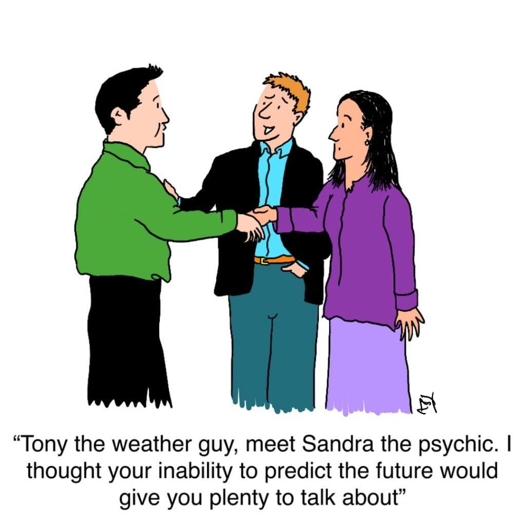 Prediction: Satirical Saturday Cartoon on Art by Alex Brenchley 2019